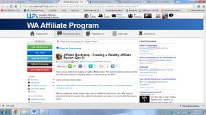WA Affiliate Program