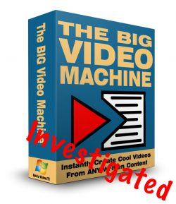 The Big Video Machine