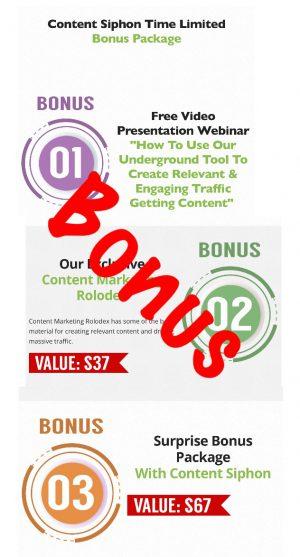 Content Siphon bonus